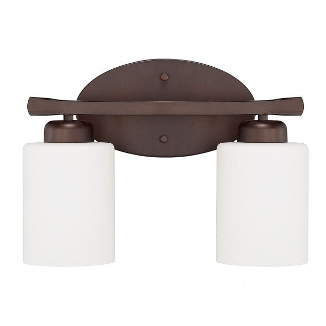 2 Light Dixon Vanity in Bronze by Capital Lighting 115221BZ-338