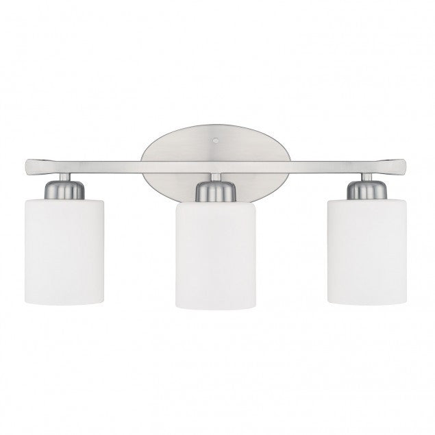 3 Light Dixon Vanity in Brushed Nickel by Capital Lighting 115231BN-338