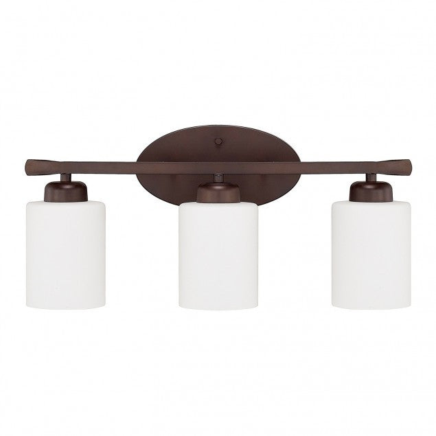 3 Light Dixon Vanity in Bronze by Capital Lighting 115231BZ-338