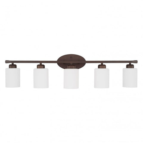 5 Light Dixon Vanity in Bronze by Capital Lighting 115251BZ-338
