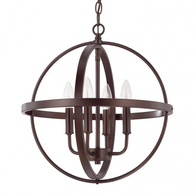 Small Home Place Pendant by Capital Lighting in Bronze 317541BZ
