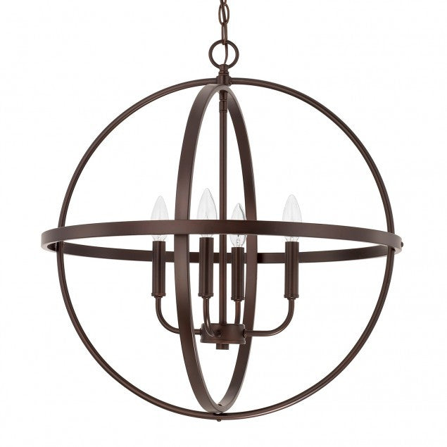 Large Home Place Pendant by Capital Lighting in Bronze 317542BZ