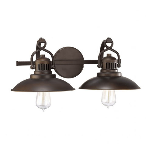 O'Neal 2 Light Vanity in Burnished Bronze by Capital Lighting 3792BB