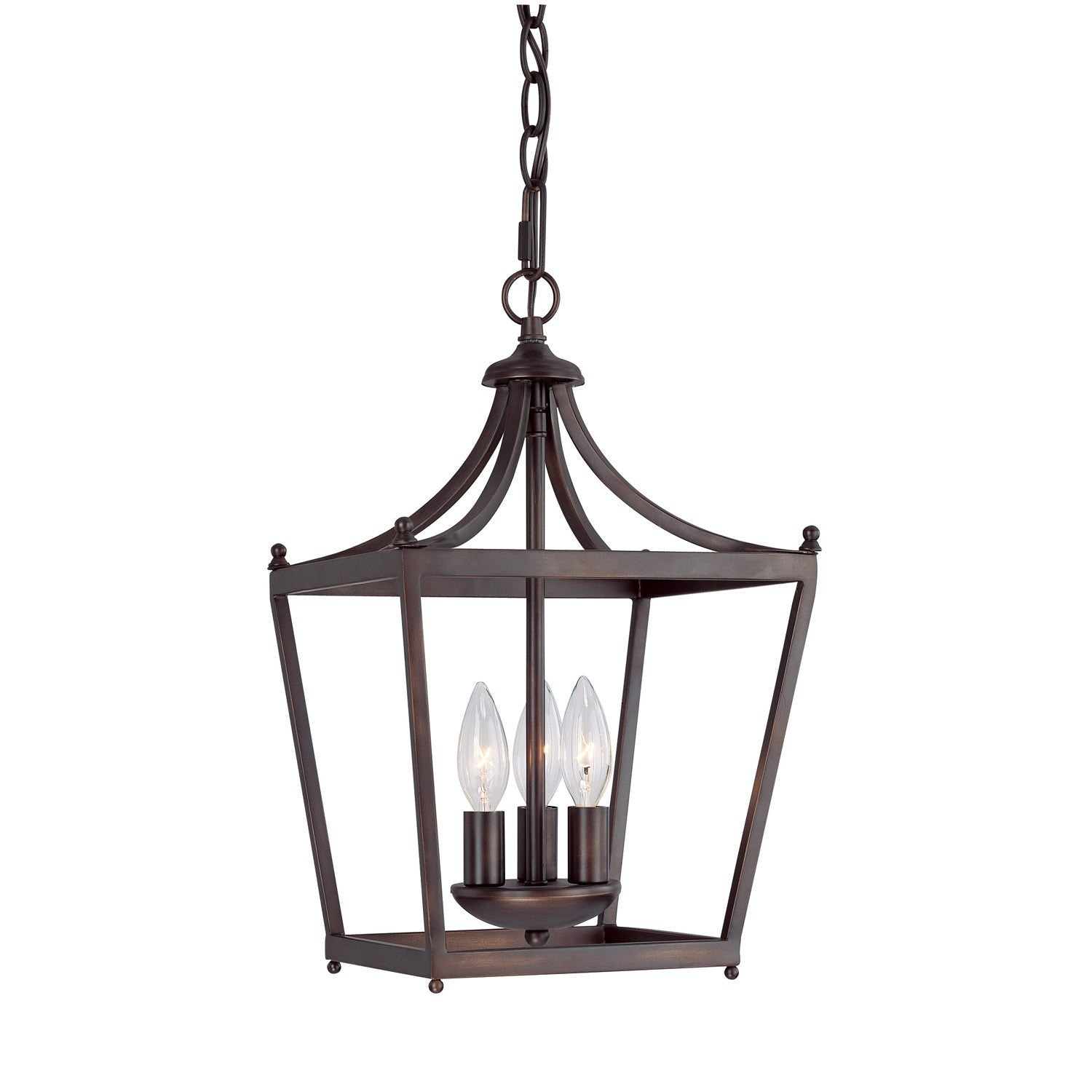 Stanton Pendant in Burnished Bronze by Capital Lighting 4036BB