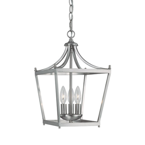 Stanton Pendant in Brushed Nickel by Capital Lighting 4036BN