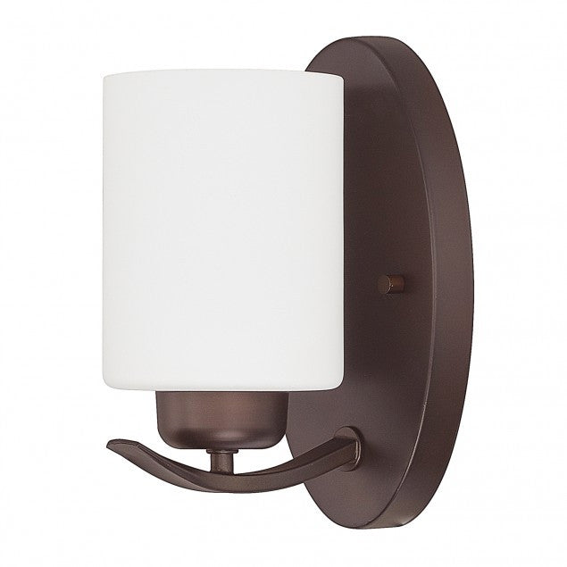 1 Light Dixon Sconce in Bronze by Capital Lighting 615211BZ-338