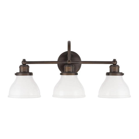 3 Light Baxter Vanity by Capital Lighting in Burnished Bronze 8303BB-128