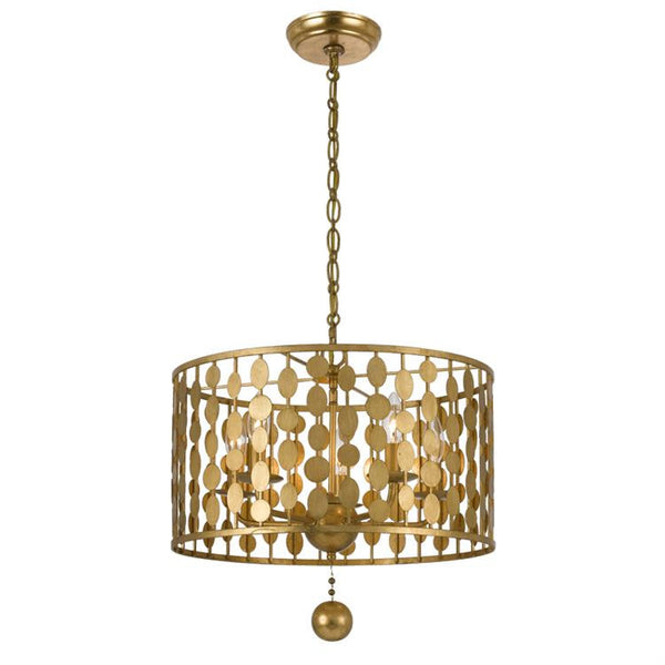 Layla chandelier in antique gold by crystorama lighting connection layla chandelier in antique gold by crystorama lighting connection lighting connection aloadofball Images