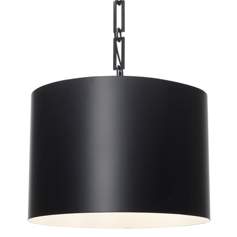 Alston 6-Light Chandelier in Matte Black, by Crystorama Lighting, 8686-MT