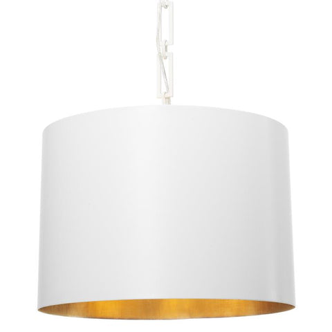 Alston 6-Light Chandelier in Matte White/Antique Gold, by Crystorama Lighting, 8686-MT-GA