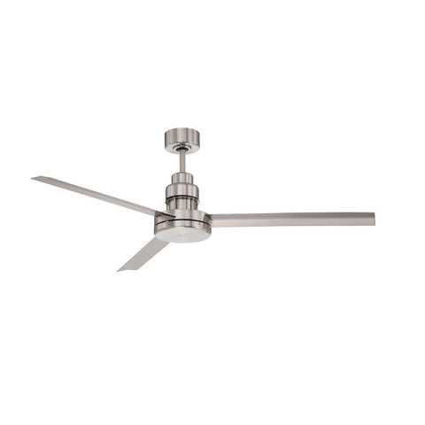 Mondo Ceiling Fan in Brushed Nickel by Craftmade MND54BNK3