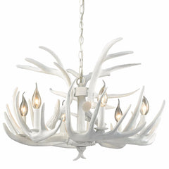 Big Sky 6-Light Chandelier, in White, by Dimond Lighting, D3317