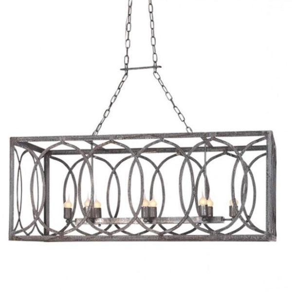 new orleans linear chandelier by ella home lighting connection