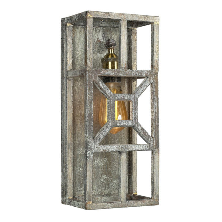 Ella Home Diamond Wall Sconce in grey Deep Ocean SC19-DO