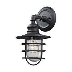 Vandon Outdoor Wall Sconce in Matte Black by Elk Lighting 45212/1