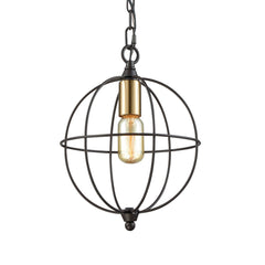 Loftin Chandelier, Oil Rubbed Bronze with Satin Brass Finish by ELK Lighting, 14510/1