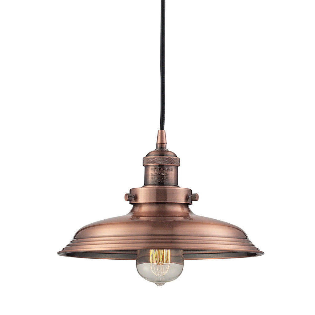 Newberry Pendant in Antique Copper by ELK Lighting 55031-1