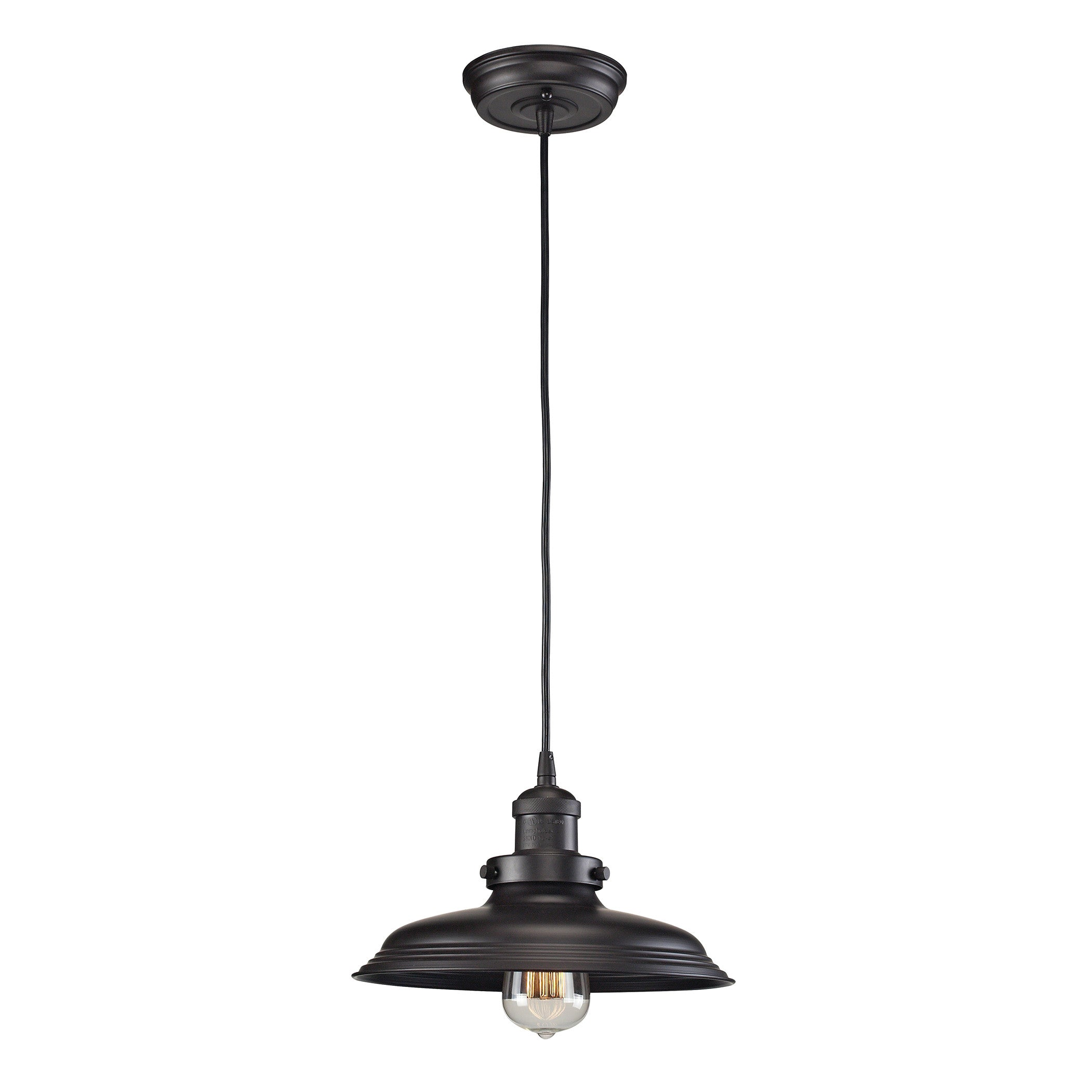Newberry Pendant in Oil Rubbed Bronze by ELk Lighting 55041-1