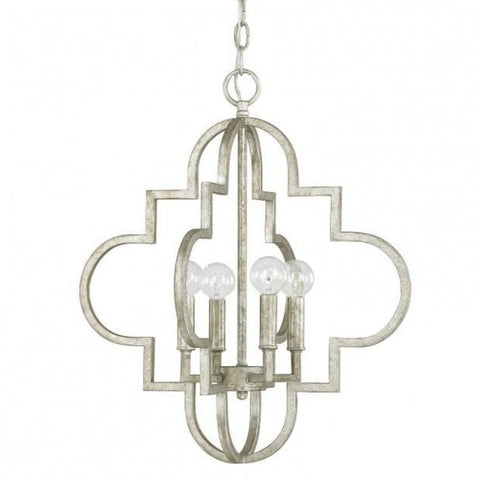 Small Ellis Pendant in Antique Silver by Capital Lighting 4541AS