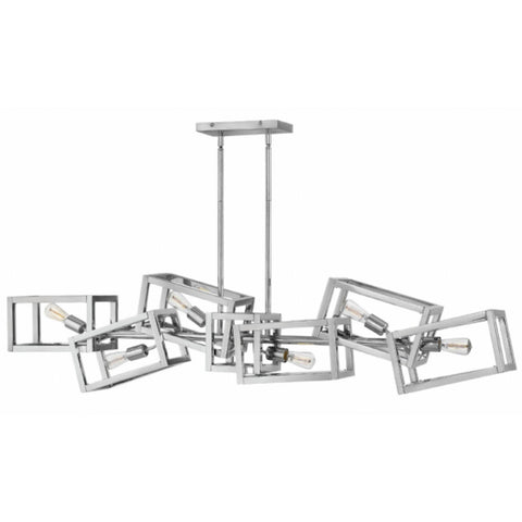 Ensemble 6 Light Linear Chandelier by Hinkley FR42446PNI