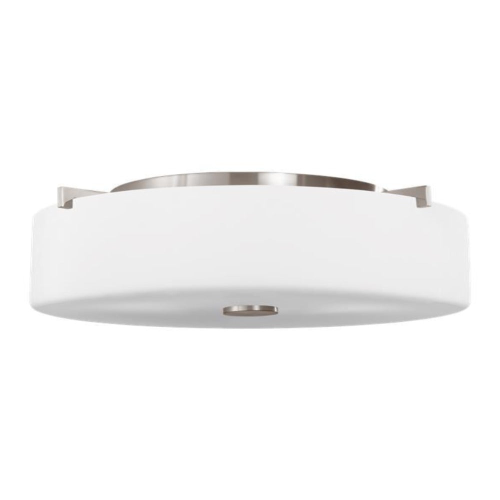 Balboa Flush Mount, Mount, Brushed Nickel