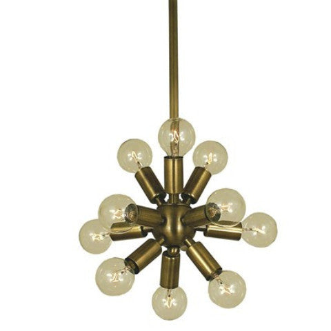 11 Light Mini Simone Foyer Pendant by Framburg Lighting FR-4391