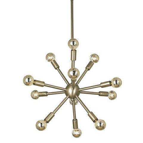 12 Light Simone Foyer Chandelier by Framburg Lighting FR-4393