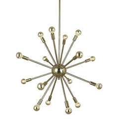 16 Light Simone Foyer Chandelier by Framburg FR-4395