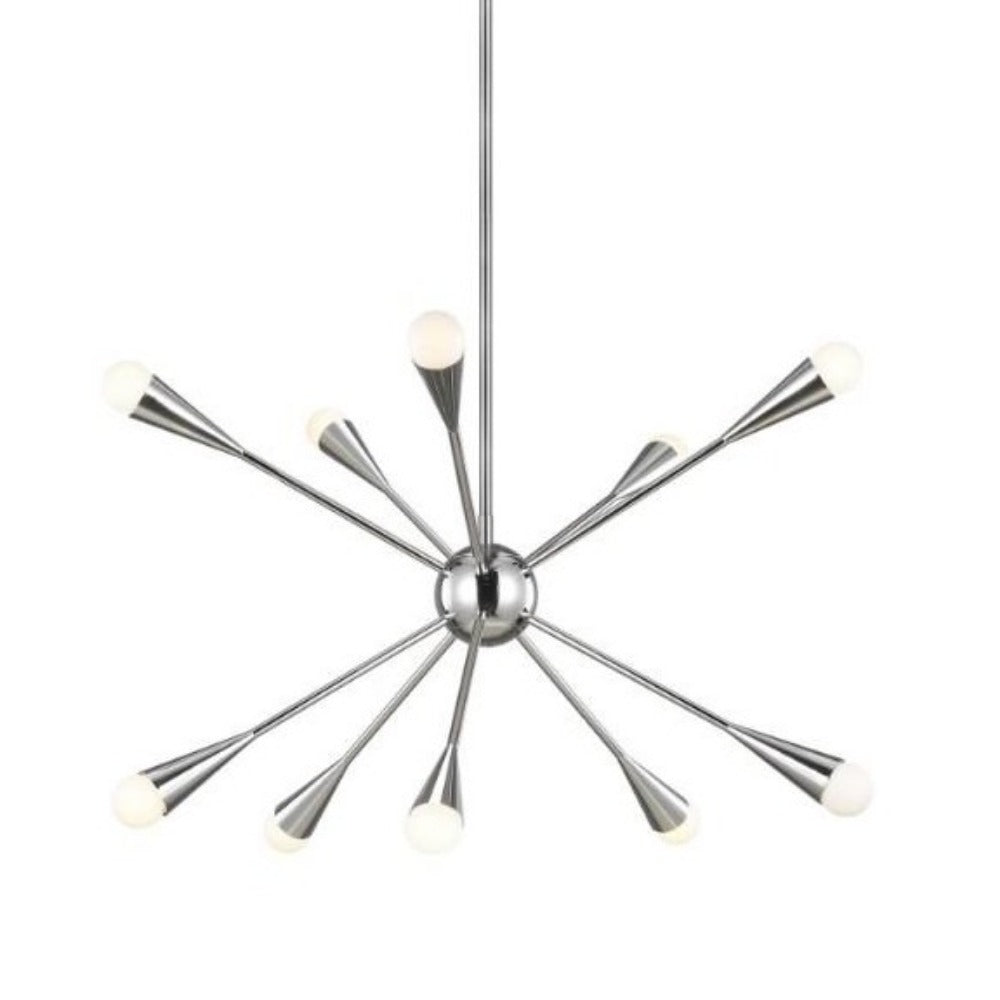 Burnham 10-Light Chandelier