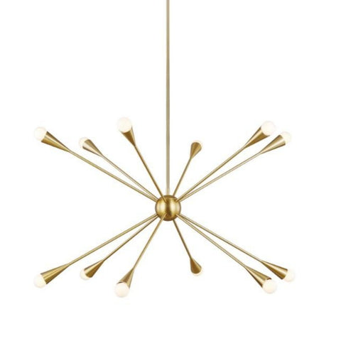 Burnham 12-Light Chandelier