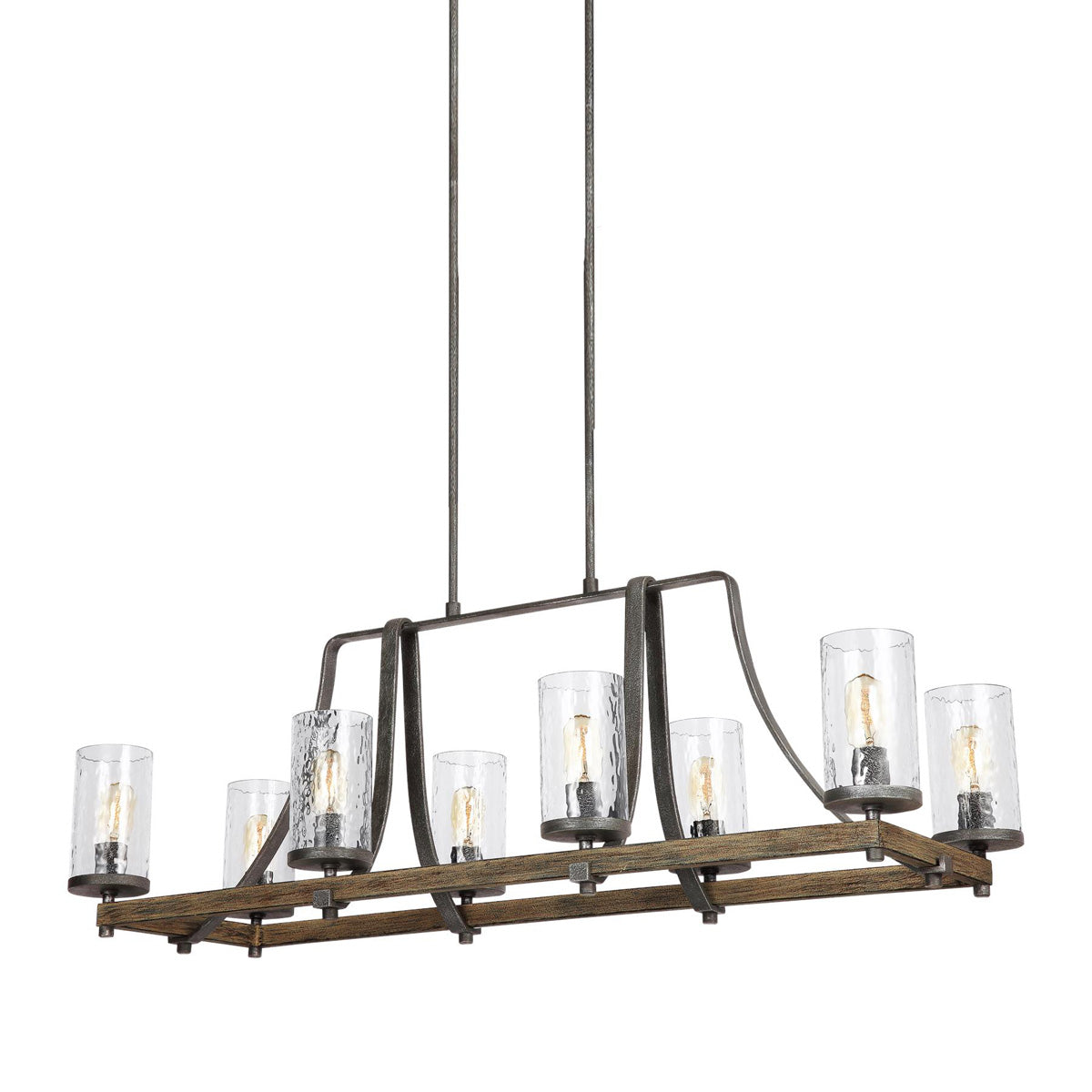Adair 8 Light Linear Chandelier