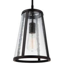 Harrow Pendant, 1-Light Mini Pendant, Oil Brushed Bronze
