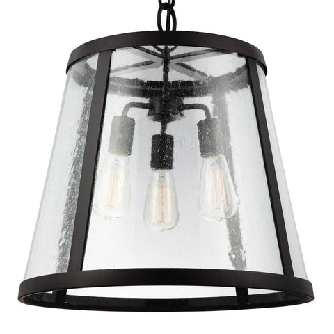 Harrow Pendant, 3-Light Pendant, Oil Rubbed Bronze
