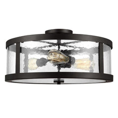 Harrow Ceiling Mount, 3-Light Semi-Flush Mount, Oil Rubbed Bronze