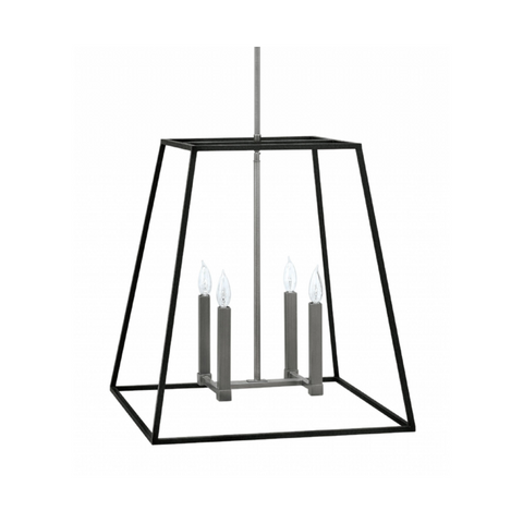 Sale: Fulton Foyer in Aged Zinc by Hinkley Lighting