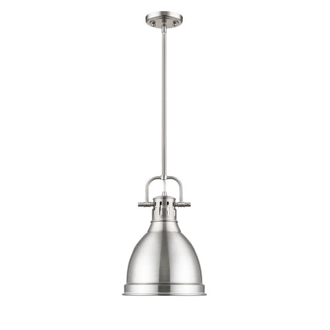 Duncan Small Pendant | Pewter Metal Shade OPEN BOX