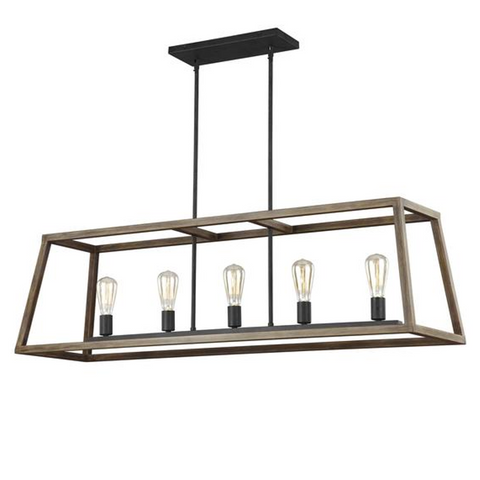 Gannet Linear Chandelier by Feiss Lighting Connection Lighting