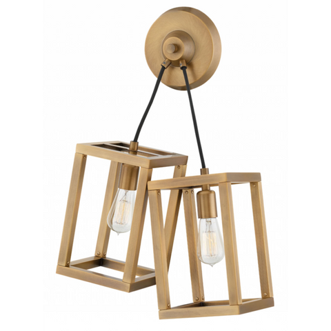 Ensemble 2 Light Sconce in Brushed Bronze by Hinkley FR42442BBZ