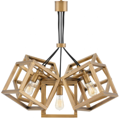 Ensemble 5 Light Chandelier in Brushed Bronze by Hinkley FR42444BBZ