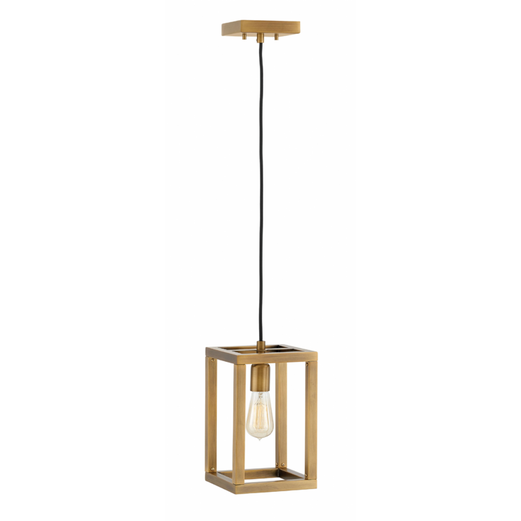 Ensemble 1 Light Pendant in Brushed Bronze by Hinkley FR42447BBZ