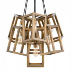 Ensemble 7 Light Pendant in Brushed Bronze by Hinkley FR42448BBZ