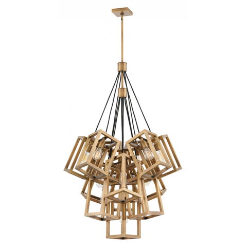 Ensemble 13 Light Pendant in Brushed Bronze by Hinkley FR42449BBZ