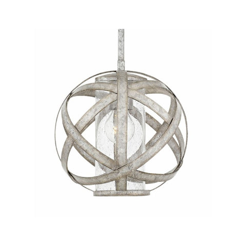 Carson Outdoor Orb Pendant by Hinkley in Weathered Zinc 29707WZ