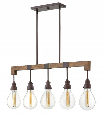 Denton Linear Suspension in Industrial Iron by Hinkley Lighting, 3266IN