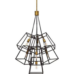 7 Light Fulton Pendant in Bronze by Hinkley 3357BZ
