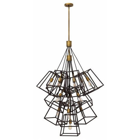 13 Light Fulton Pendant in Bronze by Hinkley 3358BZ