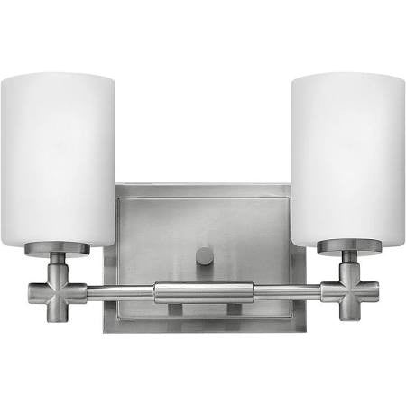 Hinkley 2 Light Laurel Vanity in Brushed Nickel 57552BN