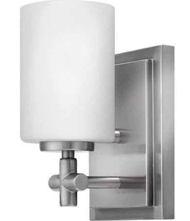 Hinkley 1 Light Laurel Bath Light in Brushed Nickel 57550BN