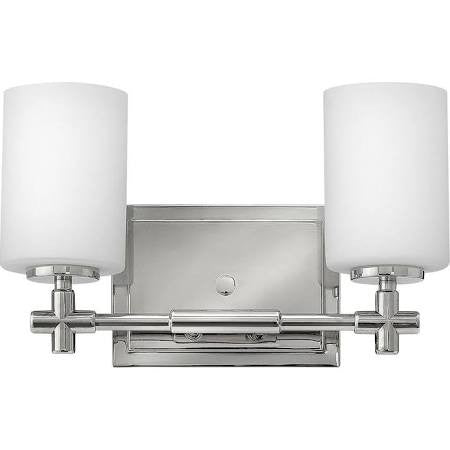 Hinkley 2 Light Laurel Vanity in Polished Nickel 57552PN