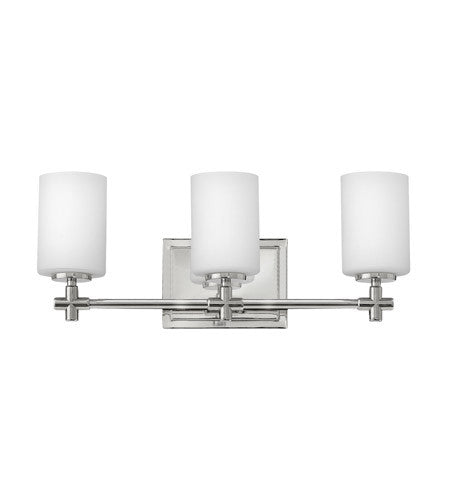 Hinkley 3 Light Laurel Vanity in Polished Nickel 57553PN